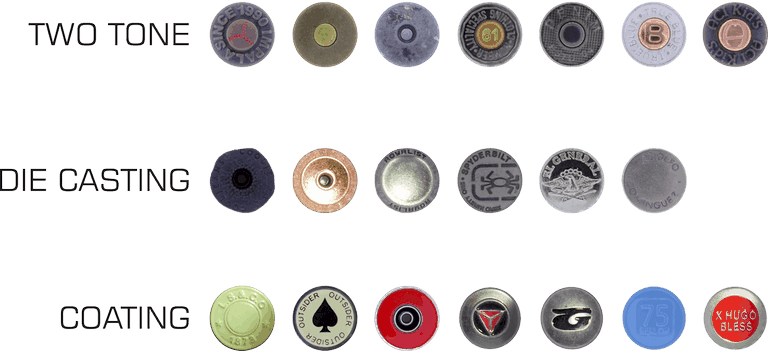 jeans metal button